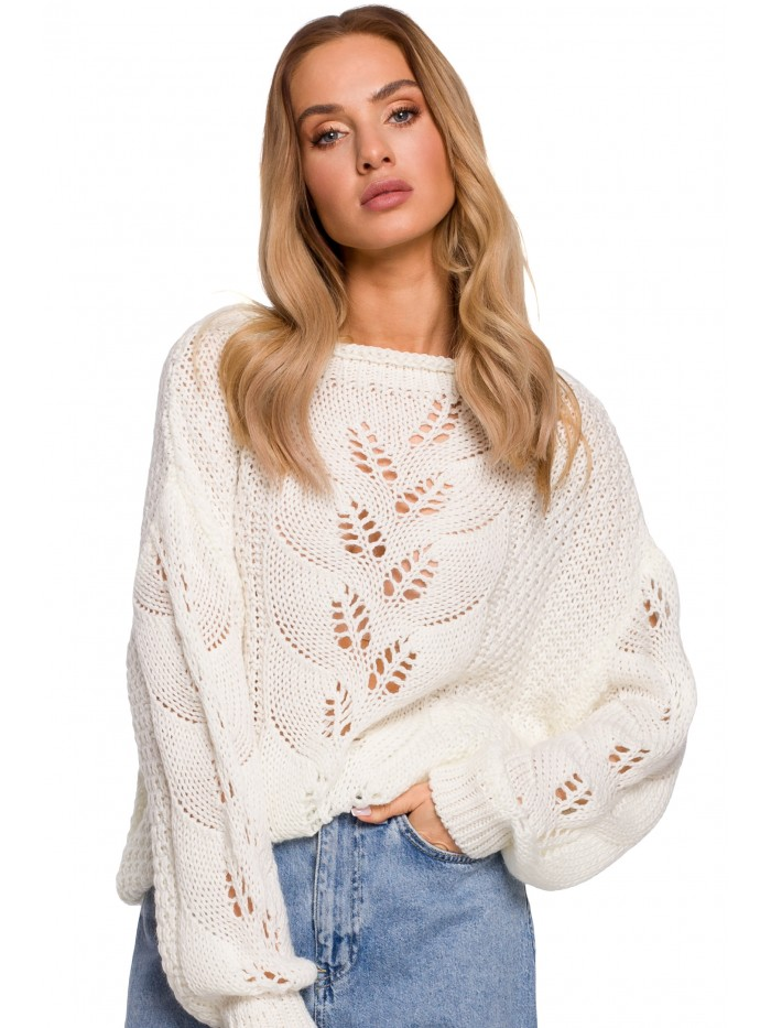 M600 Lightweight Sweater - ecru